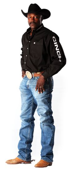 In 1991, became the first African American cowboy to win the world title in calf roping. Description from pinterest.com. I searched for this on bing.com/images