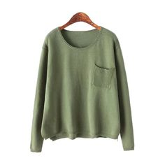 Shop for Pocket Solid Color Long Sleeve Sweater at ZAFUL. Free Shipping And Affordable Prices.