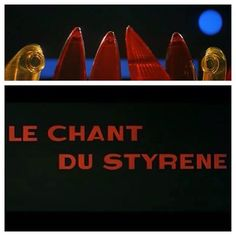 Le chant du Styrène (1958) directed by #AlainResnais  Plastic is the star of this 13 minute short. Shot on Eastman Color stock and in Anamorphic Widescreen, Resnais works magic with the constraints he is given and fills the screen with the wonders of plastic. The rhyming text that accompanies the film is fantastic and was written by #RaymondQueneau.  Available without subtitles on YouTube and in a fantastic version with English subtitles on the #Lastyearatmarienb