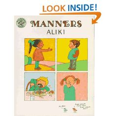 Manners: Aliki: 9780688045791: Amazon.com: Books