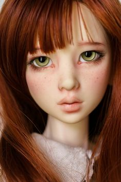 bjd   Yup, I love the freckled redheaded dolls!