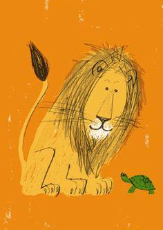 """Atsushi Hara  Like """"Happy Lion"""" by Roger Duvoisin"""