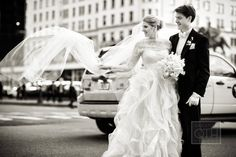 Portfolio Series LXXII written by: Christian Oth As a photographer, this is always a moment we are waiting for, particularly if the wind cooperates and blows the veil in the right direction. This photo is from a recent wedding Mike Falco shot at The Pierre in NYC. In the background is The Plaza...always a great backdrop!