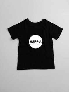 Happy Jersey Short Sleeve Tee for baby and toddler
