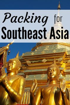 What to pack for a trip to Southeast Asia