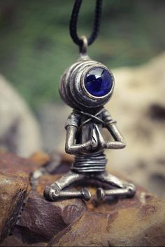 Alien necklace Paranormal jewelry Ufo gifts Robot pendant I want to believe Gift for scientist Space creature Spaceman Steampunk jewellery Dieselpunk pendant Cyberpunk geek necklace