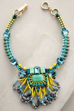 Kalahari Necklace - anthropologie.com #anthroregistry