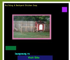 Building A Backyard Chicken Coop 155857 - The Best Image Search