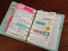 daily life // week 42 www.littleredmoose.blogspot.com  #kikkik #filofax #planner