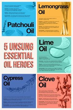 Learn all about our favorite essential oil underdogs!