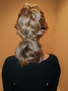 """""""Layer Cake"""" Braided Updo from Joico"""