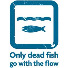1000 images about w o r d s for Only dead fish go with the flow