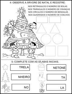 Formas Geométricas Natal