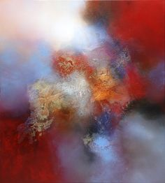 Eelco Maan / Abstract. I am using this as inspiration, trying to figure out how he has developed the incredible colors and layers.
