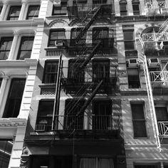 Soho building in New York