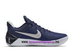 Chaussures De BasketBall Nike Kobe A.D. Prix HOmme Pas Cher Bleu / blanc  852427_406-1801030265