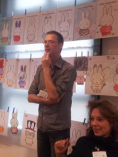 Benny Lindelauf. Symposium 'De kunst van het schrijven', Centraal Museum, Utrecht, 29-11-2013.