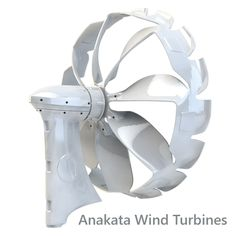 Introducing Anakata Wind Turbines - designed by F1 engineers for optimum efficiency... #wind #windenergy #renewable energy #livinggreen #wind