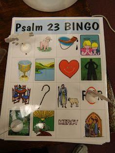 Hands on bible teacher david amp psalms 23