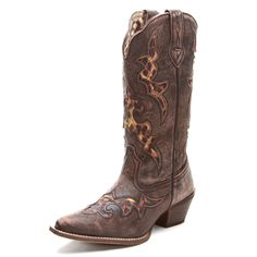 Laredo Leopard Cowgirl Boots