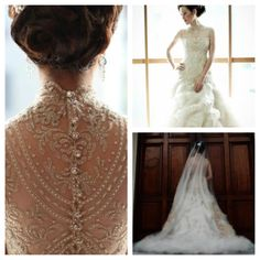 A beautiful VELUZ gown