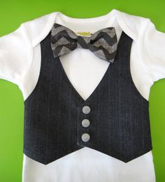 Hey, I found this really awesome Etsy listing at https://www.etsy.com/listing/121106695/bow-tie-outfit-grey-vest-and-grey