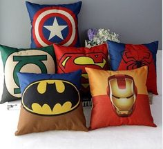 Check out this deal at Groopdealz! If your kids love superheroes, get these Hero Inspired Pillow Covers for only $16.99! Normally $39.00! Great for any room! Your kids will love it! If you want these, don't miss out!