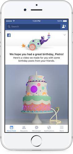 Parab�ns! Facebook lan�a v�deos de anivers�rio   TecheNet