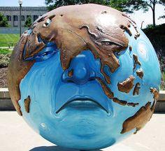 Le réchauffement climatique est un risque pour la terre et le climat