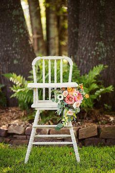 High Chair Décor For Babyu0027s First Birthday