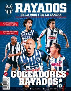 Julio 2012 'Goleadores Rayados'