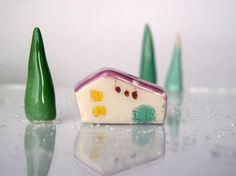 My little Clay House  Handmade ceramics by VitezArtGlassDesign, $15.00