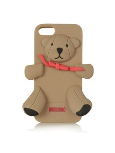 teddy bear iPhone case.
