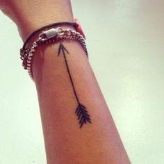 Arrow Tattoo for Girls