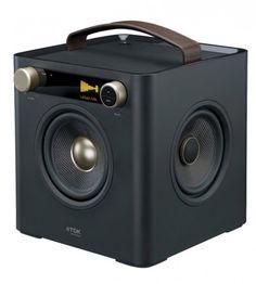 TDK Life on Record Sound Cube – $120 #listen #audio #sound #music #quality #square #design