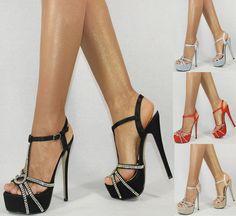 Luxus+Damenschuhe+35-41+NEU+Pumps+Plateau+High+Heels+Designer+Schuhe+Damen+Party