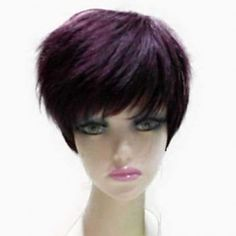 SHARE & Get it FREE | Natural Straight Top Quality Synthetic Hair Side Bang Mixed Color Casual Style Women's Short WigFor Fashion Lovers only:80,000+ Items·FREE SHIPPING Join Dresslily: Get YOUR $50 NOW!