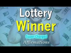 Affirmations: Win the Lottery. Guided Meditation for Luck Winning Lottery. Improve odds 1000% - YouTube
