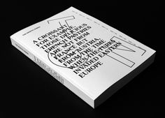 anothergraphic: The Graphic Nomad - the book. Book And Magazine, Print Magazine, Typography Prints, Graphic Design Typography, Book Design, Cover Design, Publication Design, Visual Communication, Book Publishing