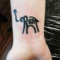 Hand Elephant Tattoo                                                                                                                                                                                 More