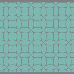 Modern Geometric screen printed wallpaper: TLL07B