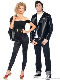 grease couples costume - Halloween Costumes 2013