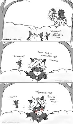 ♡ Miraculous Ladybug ♡ Chat Noir x Marinette note: yes I'm aware that plagg can't 've there with chat while transformed, but it's still a cute comic that the artist made:) Comics Ladybug, Ladybug Anime, Ladybug Y Cat Noir, Meraculous Ladybug, Miraculous Ladybug Chat Noir, Miraculous Ladybug Fan Art, Lady Bug, Foto Gif, Kevedd