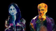 Skin Deep - Collaborative Self Portraits by Rosalie Yu and Alon Chitayat - from Animishmish. Interactive 3D drawing installation by Rosalie Yu and Alon Chitayat For more information: skindeep.cc