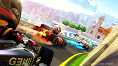 Monaco artwork featuring Lotus F1 team, Marussia F1 team and Scuderia Torro Rosso!