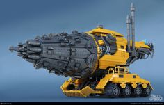 Lego Drill Vehicle  3ds max