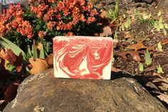 Peppermint Candy Swirl Soap, Artisan Soap, Handmade Soap, Cold Process Soap by Bodacious Body Works by BodaciousBodyWorks on Etsy