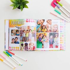 🌈Did you know Mixbook offers beautiful yearbooks for schools, organizations, and even little league teams? Customize your team photos your way for an easy DIY yearbook. Shop our feed--link in bio ↗️    #Regram via @mixbook