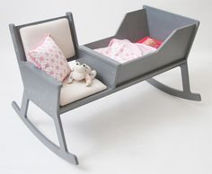 Rocking Chair + Cradle