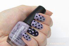 Polka Dots Nails, super cute!